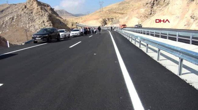 Hasankeyf Köprüsü Açıldı