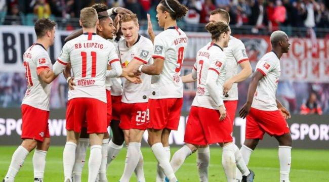 Leipzig, Mainz'ı darmadağın etti: 8-0