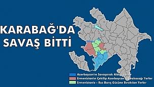 Azerbaycan - Ermenistan Anlaştı. Ermenistan, Karabağ'ın çoğu Yerinden Çekilecek