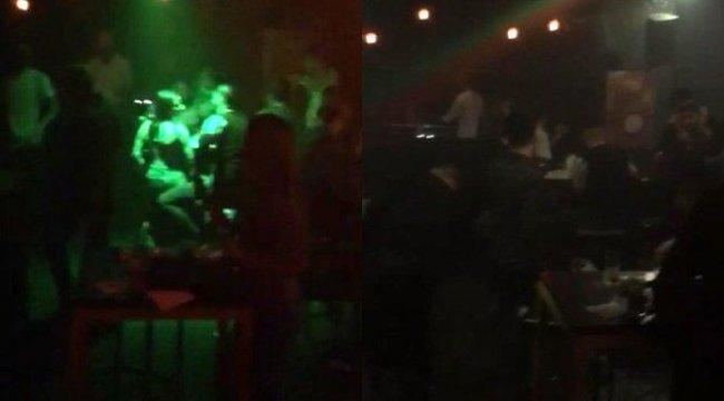 İstanbul'da corona partisine baskın