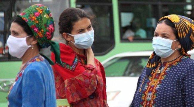 Türkmenistan'da Korona Bildirilmiyor. Maske Takmak Yasak