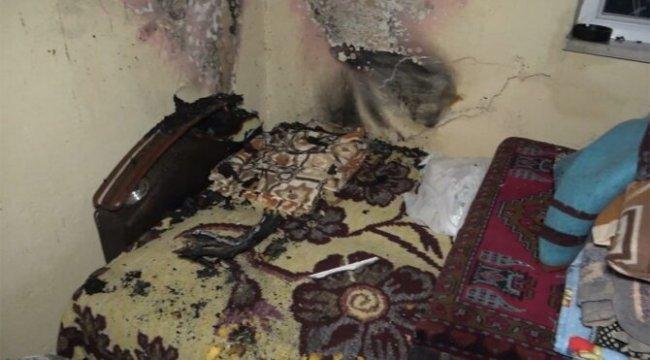 Bu evdeki eşyalar kendiliğinden yanıyor iddiası