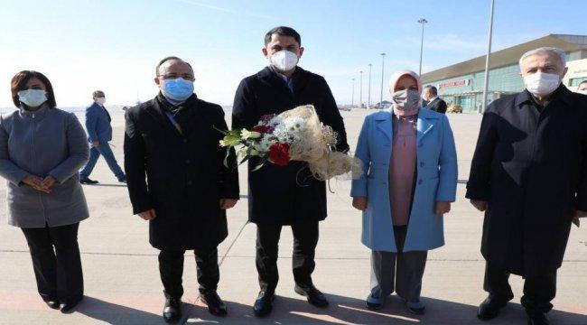 Çevre Şehircilik Bakanı Elazığ'daydı