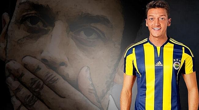 Mesut Özil 3,5 Yıllığına Fenerbahçe'de