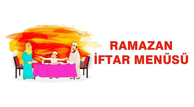 30 Günlük Ramazan Yemek Menüsü