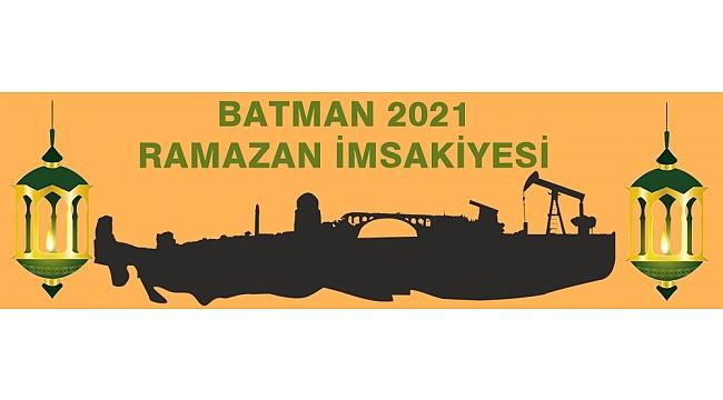 Batman 2021 Ramazan İmsakiyesi