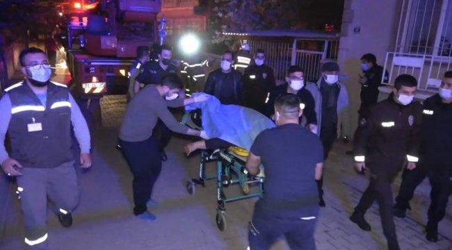 Kırıkkale'de cinnet getiren yaşlı adam dehşet saçtı! Eşini öldürdü, evini ve arabasını yaktı