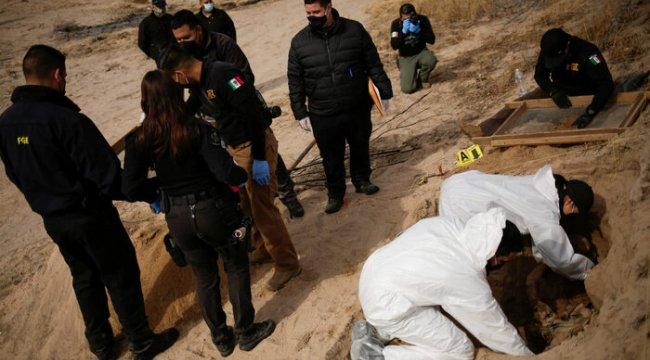 Meksika'da 2006'dan bu yana 85 binden fazla kişi ortadan kayboldu