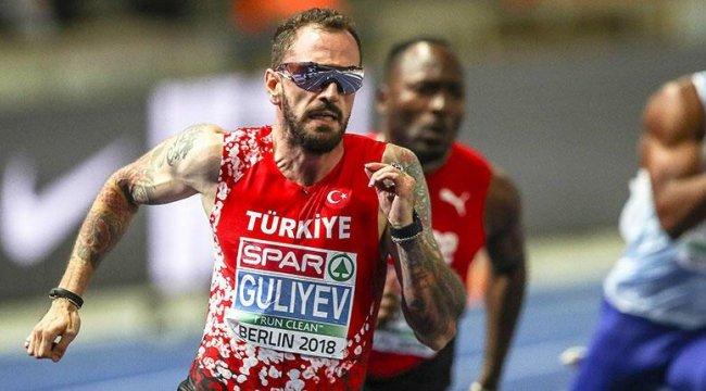 Milli atlet Ramil Guliyev, Fransa'da ikinci oldu