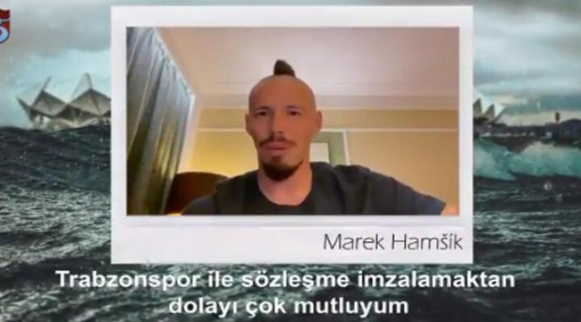 Son dakika... Trabzonsporlu Marek Hamsik'ten ilk sözler!