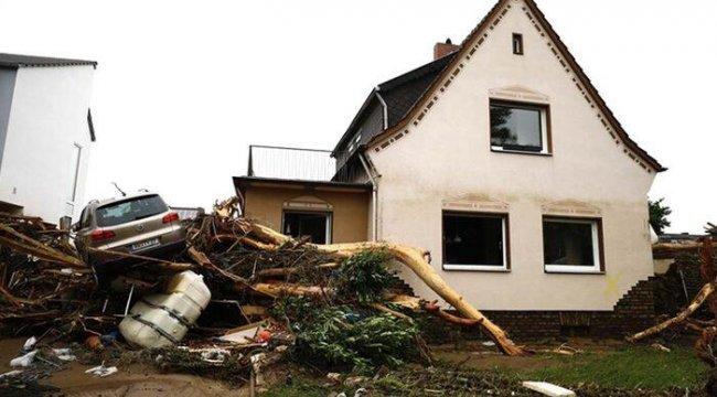 Almanya'da sel felaketi! Hayatını kaybedenlerin sayısı 106'ya yükseldi