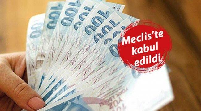 Ekonomik düzenlemeler içeren kanun teklifi TBMM'de kabul edildi