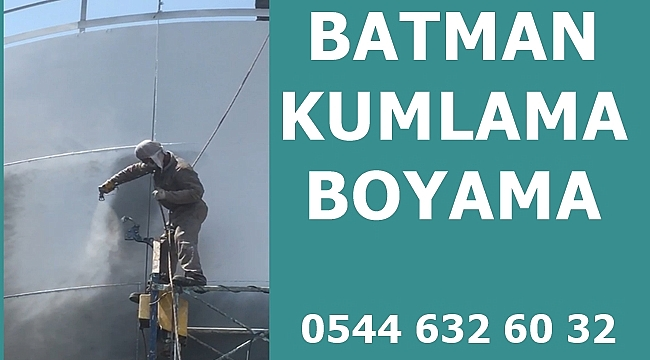 Batman Kumlama Boyama