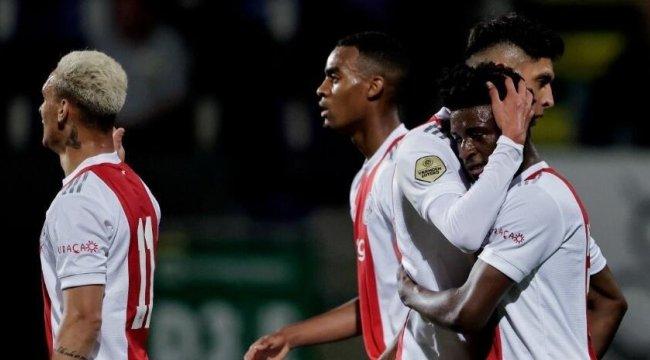 Ajax son iki maçta 14 gol attı