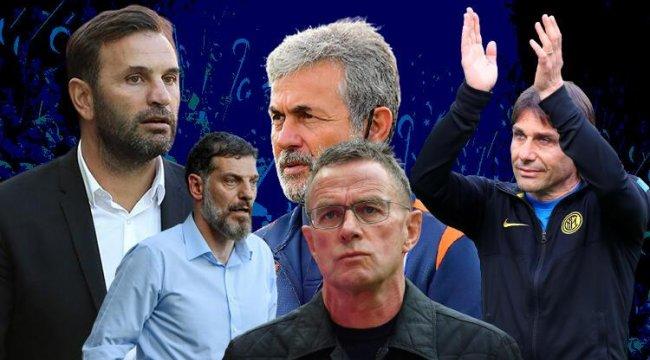 İşte aranan Milli Takım hocası! Antonio Conte, Aykut Kocaman, Okan Buruk, Slaven Bilic, Rangnick...