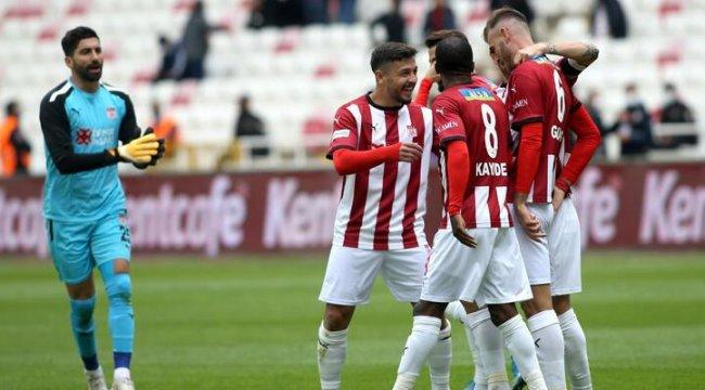 Sivasspor - Karagümrük: 4-0
