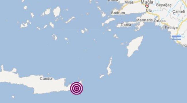Son Dakika: Girit Adası'nda deprem! Türkiye'de de hissedildi